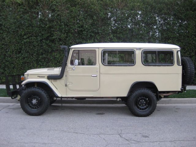 1982 Toyota Land Cruiser Hj47 Troop Carrier With 2h Diesel