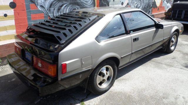 1982 toyota supra 21 000 miles grey straight 6 cylinder engine 2 8l 168 for sale toyota supra. Black Bedroom Furniture Sets. Home Design Ideas