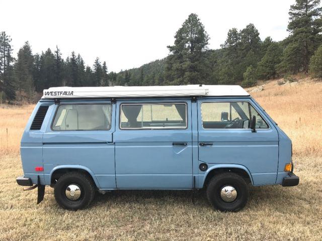 1982 volkswagen vanagon westfalia camper van for sale