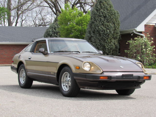 1983 280 Zx Two Tone Gold Brown Auto Cold A C 75 Xxx