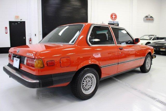 1983 BMW 3-Series 320i 159231 Miles Red 1.8L L4 DOHC 16V ...