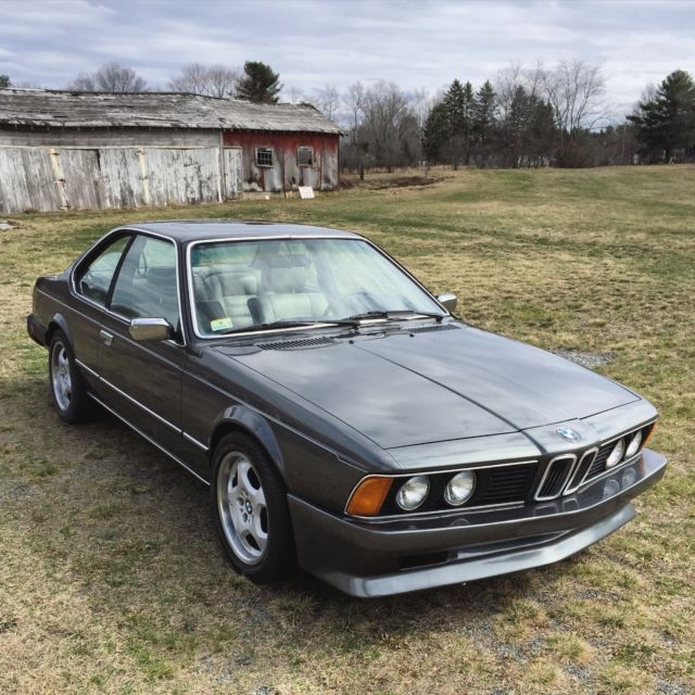 1983 BMW 633CSI, 5 SPEED, E24, ONE OWNER CAR, CLEAN CARFAX