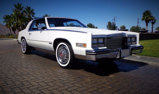 The Best 1983 Cadillac Eldorado White
