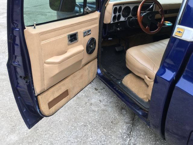 1983 Chevy c10 ls swap lowered patina lsx squarebody for sale