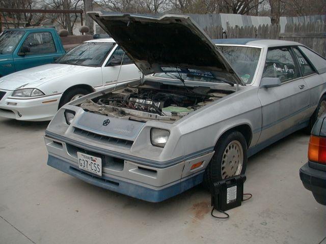 1983 Dodge Charger Shelby Hatchback 2 Door 2 2l For Sale
