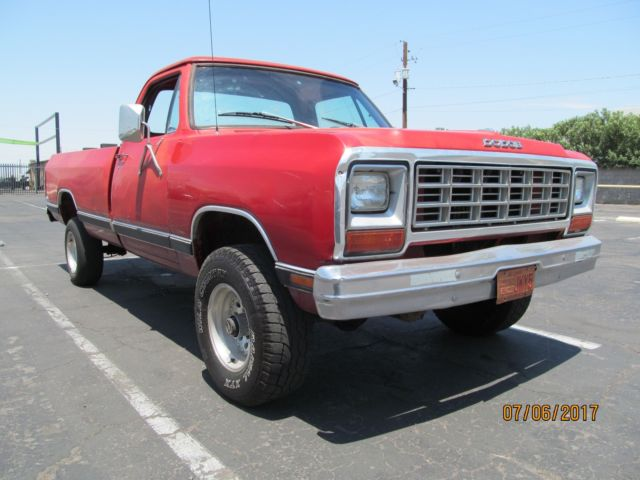 1983 dodge ram d 150 4x4 lwb arizona truck no reserve read and see pics for sale dodge other. Black Bedroom Furniture Sets. Home Design Ideas