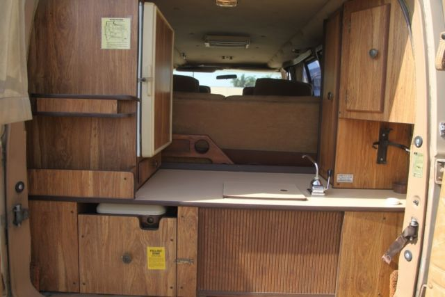1983 Ford Econoline Contempo C Automatic 8 Cylinder NO