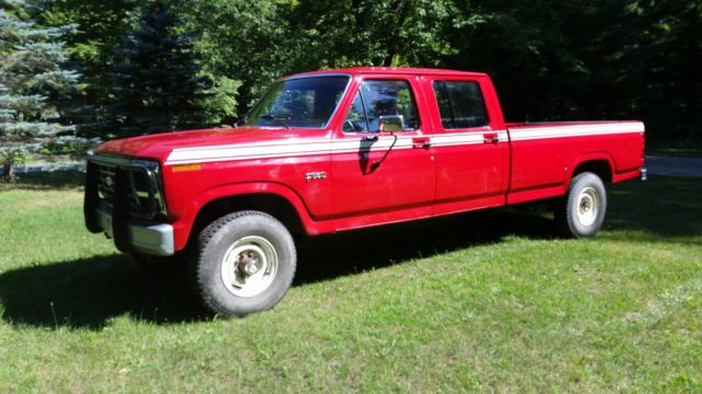 Ford F Crew Cab With  Windsor C Transmission