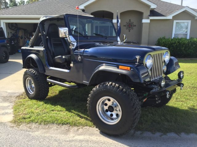 1983 jeep cj7 4 2l 258 for sale jeep cj 1983 for sale in. Black Bedroom Furniture Sets. Home Design Ideas