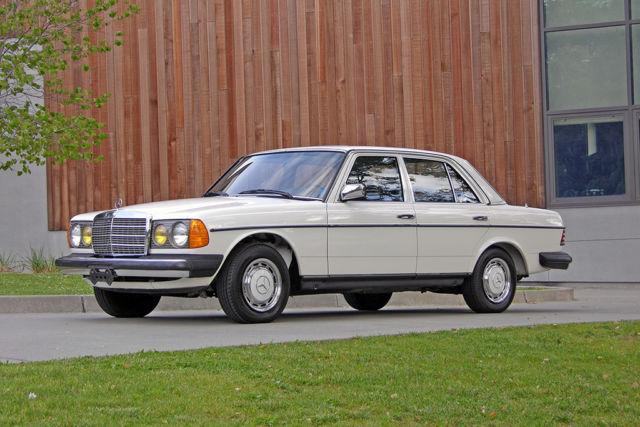 1983 mercedes 240d 1 ca own 62k miles 4 spd snrf for Mercedes benz burlingame