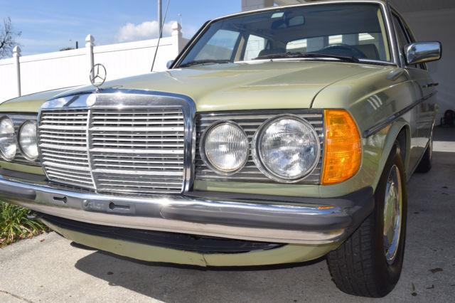 1983 mercedes benz 200 series 240d diesel for sale for Mercedes benz 240 diesel