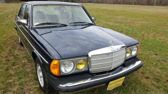 1983 mercedes benz 240d 4 speed manual transmission for Mercedes benz 240 d