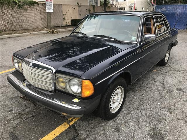 1983 mercedes benz 300 series 300d t 147 990 miles blue for Mercedes benz 300d engine for sale