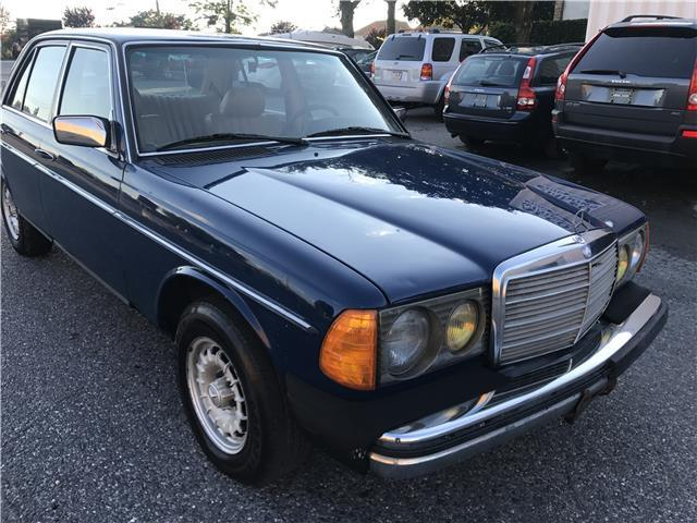 1983 mercedes benz 300 series 300d t 191 629 miles blue for Mercedes benz 5 cylinder diesel engine