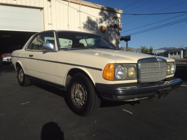 1983 mercedes benz 300cd turbo diesel 2dr coupe 30 day for Mercedes benz 300cd for sale