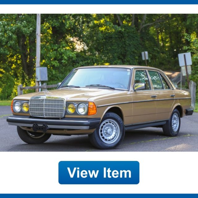 1983 mercedes benz 300d turbo diesel super arizona car car for Mercedes benz diesel cars for sale