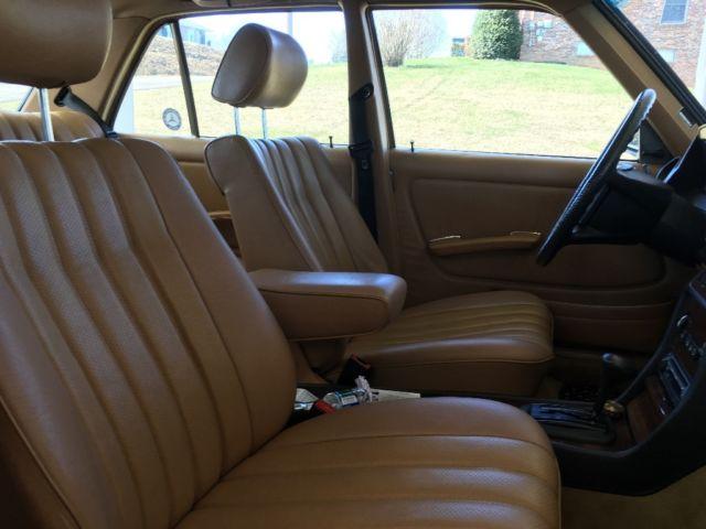 1983 Mercedes-Benz 300D W123 Excellent Condition for sale