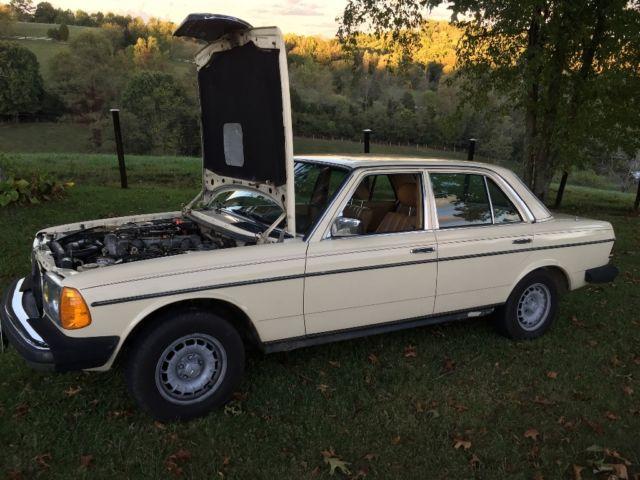 1983 mercedes benz 300d w123 excellent condition for sale for Mercedes benz 300d engine for sale