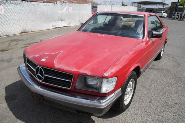 1983 mercedes benz 380 sec automatic 8 cylinder no reserve for 1983 mercedes benz 380sec for sale