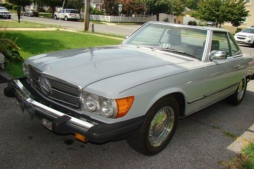 1983 mercedes benz 380sl 2 door coupe roadster hard top for Mercedes benz 2 door coupe for sale