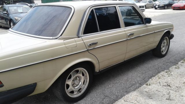 1983 mercedes benz diesel 240 i never see one like that for Mercedes benz diesel for sale in florida