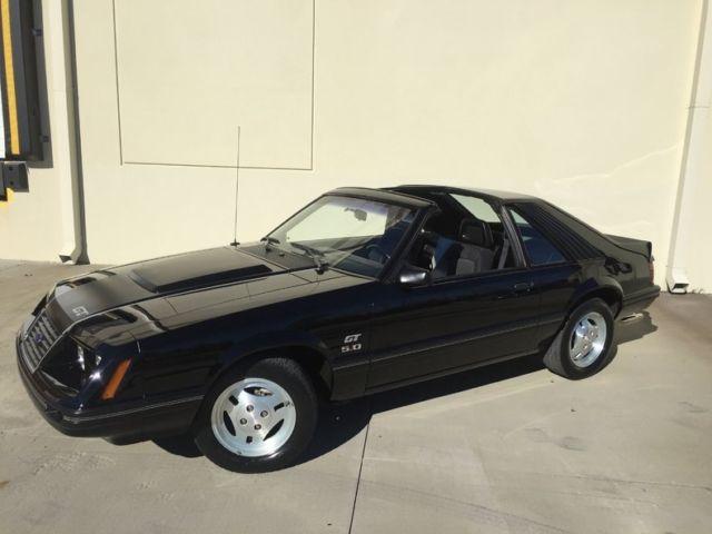 1983 Mustang Gt 5 0 Ho 10k Actual Miles T Tops 5spd