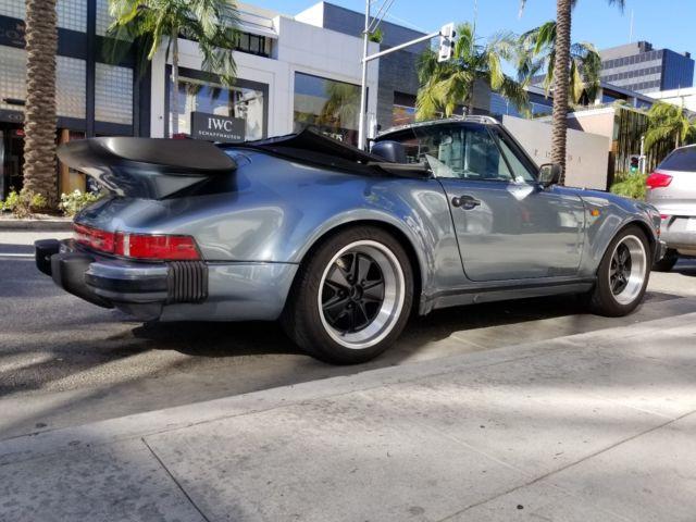 1983 porsche 911sc factory convertible metal turbo look. Black Bedroom Furniture Sets. Home Design Ideas