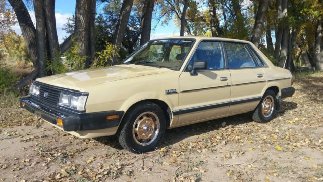 1983 Subaru Gl For Sale
