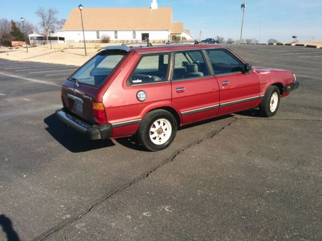 1983 subaru gl wagon no reserve for sale
