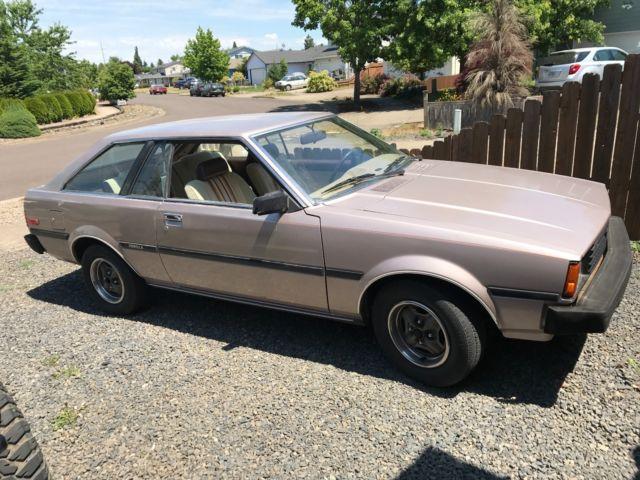 1983 toyota corolla 2 door liftback ae71 sr5 super clean rust free original car for sale. Black Bedroom Furniture Sets. Home Design Ideas