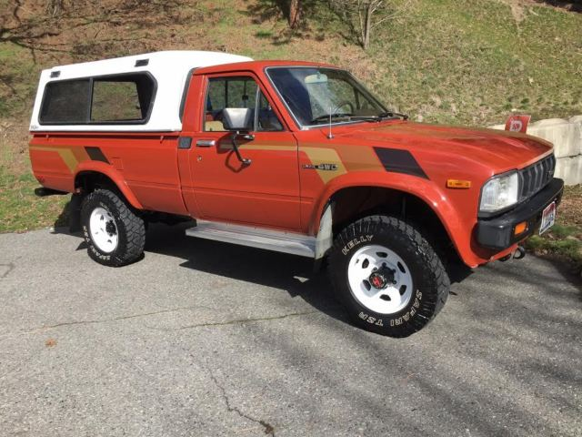 1983 toyota pickup 4x4 hilux long bed in great shape no rust low all original for sale toyota. Black Bedroom Furniture Sets. Home Design Ideas