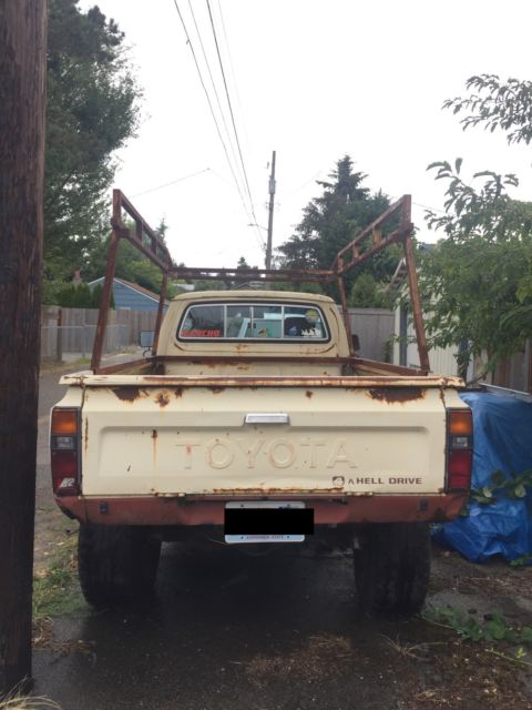 1983 toyota pickup sr5 longbed for sale toyota other longbed 1983 for sale in seattle. Black Bedroom Furniture Sets. Home Design Ideas