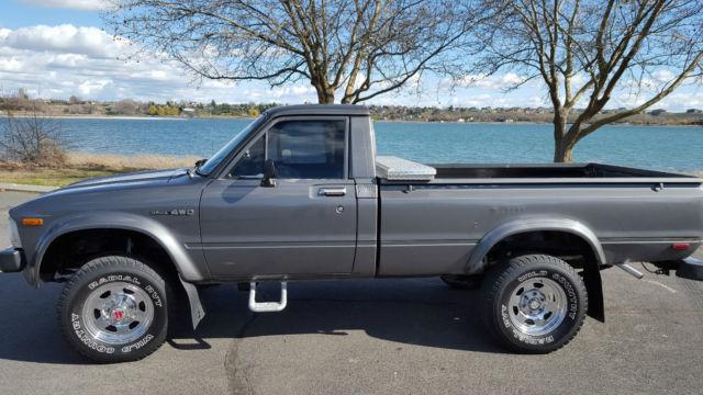 1983 toyota pickup sr5 standard cab pickup 2 door 2 4l 4x4 for sale toyota long bed 1983 for. Black Bedroom Furniture Sets. Home Design Ideas