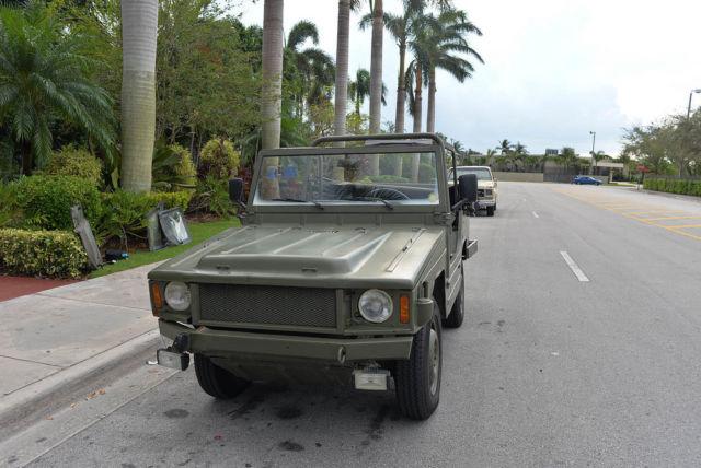 1983 VW iltis type 183 similar to jeep beetle bus 1967 1960