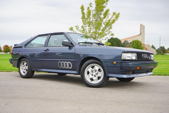 1984 Audi Quattro 102 200 Miles Amazon Blue Coupe 5