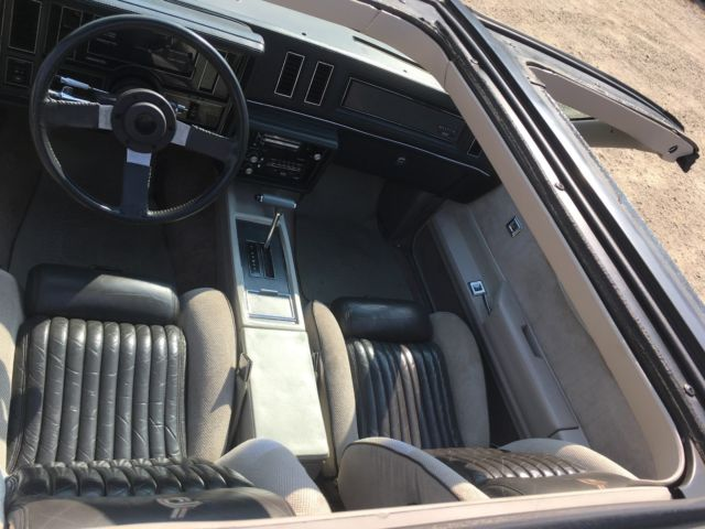 1984 Buick Regal Grand National Less Than 200 Made Original Turbo T Top Survivor For Sale Buick Regal Grand National 1984 For Sale In Dundee Illinois United States