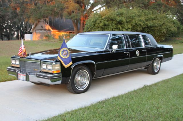 1984 Cadillac Series 75 Reagan Limousine For Sale