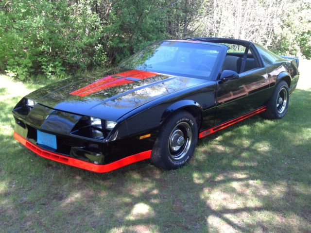 1984 Camaro Z28 With T Tops For Sale Chevrolet Camaro