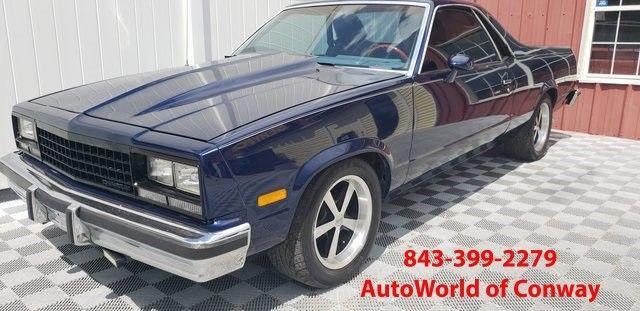 1984 chevrolet el camino ls engine super sport show truck digital dash clean for sale. Black Bedroom Furniture Sets. Home Design Ideas