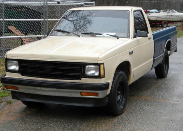 1984 Chevrolet s10 Isuzu Pickup Diesel for sale - Chevrolet