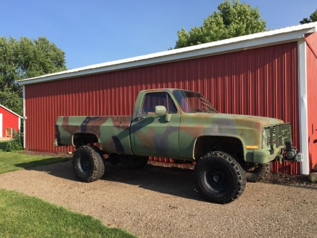 1984 chevy 1 ton army truck for sale chevrolet other pickups 1984 for sale in hamilton. Black Bedroom Furniture Sets. Home Design Ideas