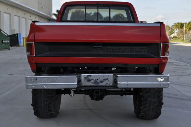 1984 Chevy C10 4x4 454 Shortbed K10 K20 C20 C 10 K 10 K 20