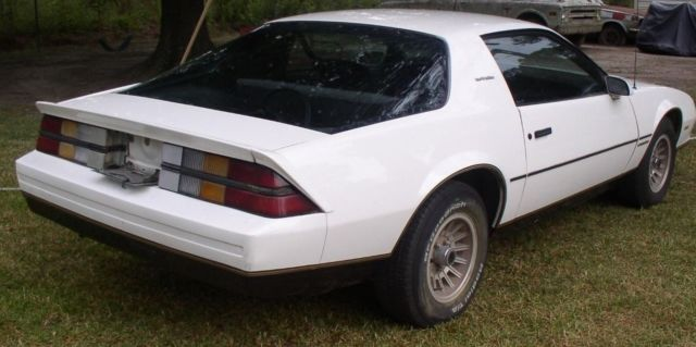 1984 Chevy Camaro Berlinetta For Sale Chevrolet Camaro