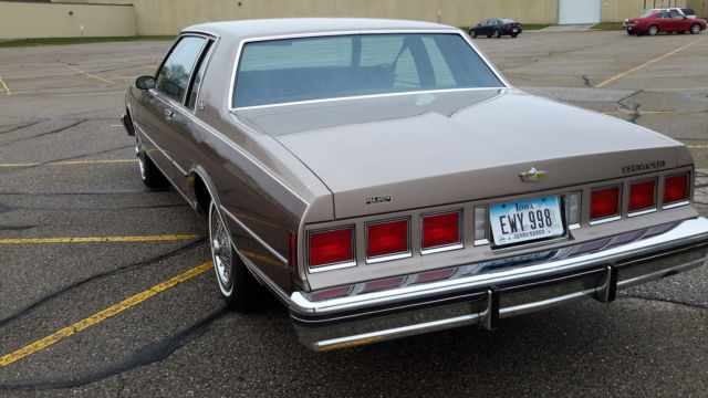 1984 Chevy Caprice Coupe 2-Door V8 53,xxx mile impala 78 79