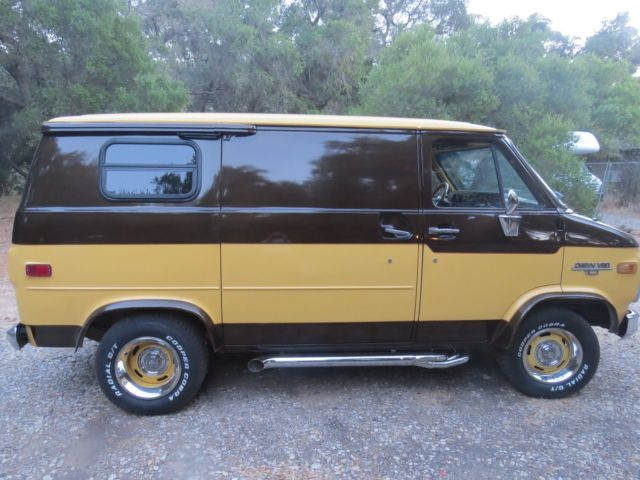 1984 chevy custom van conversion for sale chevrolet g20 van 1984 for sale in ojai california. Black Bedroom Furniture Sets. Home Design Ideas