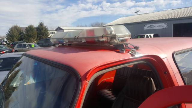 1984 Chevy D10 K5 Blazer Quot Diesel Quot Retired Fire Marshall