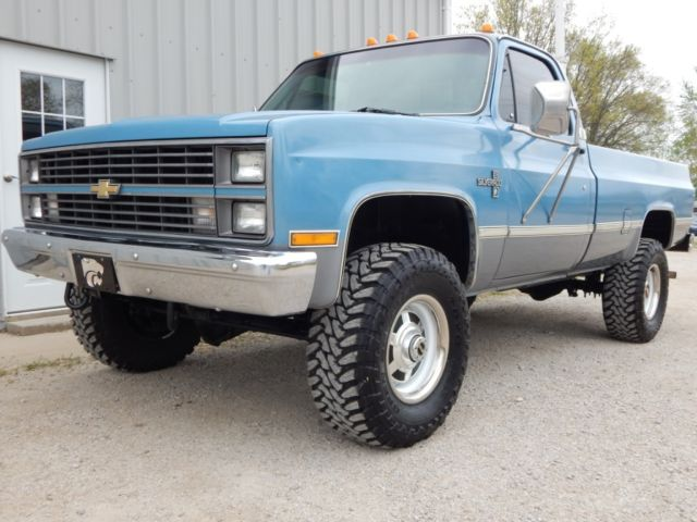 1984 chevy k30 454 v 8 4 speed 4x4 with 49 558 #6