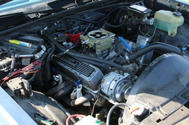 1984 Chevy Monte Carlo ss Tremec 5 spd 350 fitech fuel injection 98