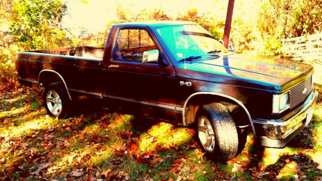 1984 chevy s10 pickup for sale chevrolet s 10 standard cab long bed rear wheel drive 1984. Black Bedroom Furniture Sets. Home Design Ideas