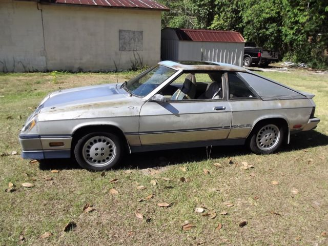 1984 DODGE CHARGER SHELBY 2 DR HATCH 5 SPEED for sale - Dodge Charger SHELBY 1984 for sale in ...